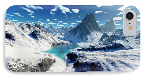 Terragen Render Of An Imaginary Phone Case by Rhys Taylor