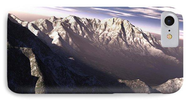 Terragen Render Of Kitt Peak, Arizona Phone Case by Rhys Taylor