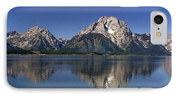 Teton Panoramic View Phone Case by Marty Koch