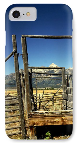 Teton Ranch Phone Case by Marty Koch