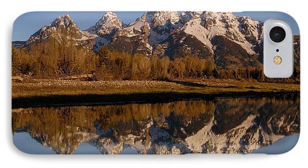 Teton Range, Grand Teton National Park Phone Case by Pete Oxford