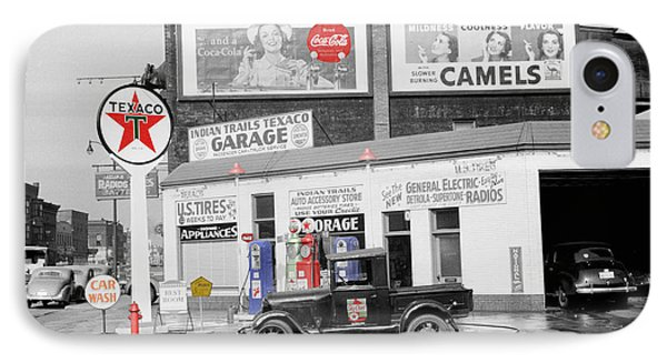 Texaco Station Phone Case by Andrew Fare