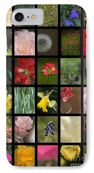 Texas Beauties IPhone Case by Kim Henderson