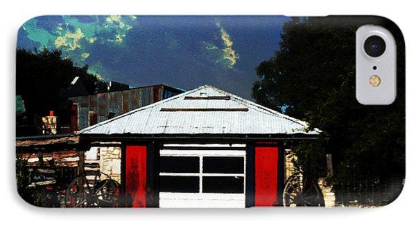 Texas Garage Phone Case by Kelly Rader