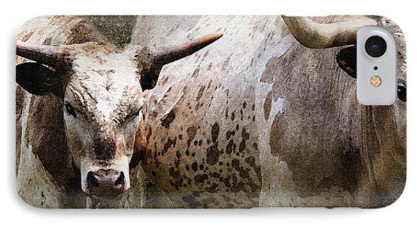 Texas Longhorns Phone Case by Betty LaRue