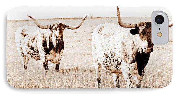Texas Pair Phone Case by Elizabeth Hart