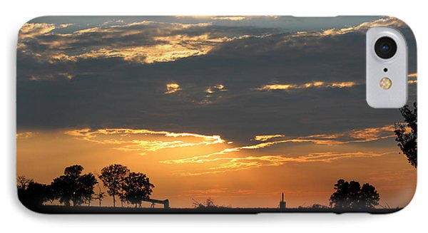 IPhone Case featuring the photograph Texas Sized Sunset by Kathy  White