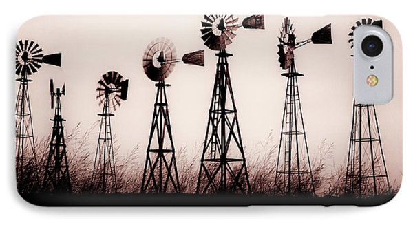 Texas Windmills Phone Case by Tamyra Ayles