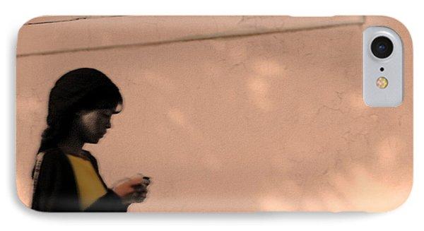 Texting Phone Case by Viktor Savchenko