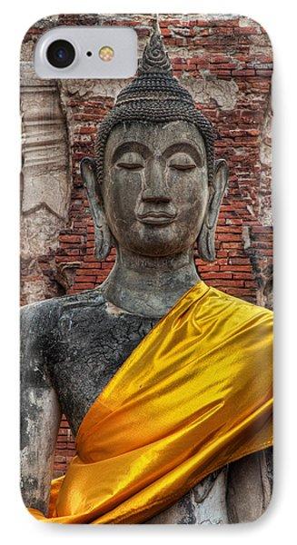 Thai Buddha Phone Case by Adrian Evans