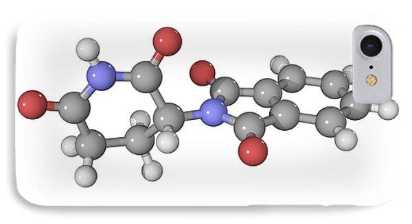 Thalidomide Drug Molecule Phone Case by Laguna Design
