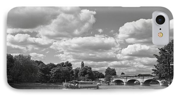 IPhone Case featuring the photograph Thames River Cruise by Maj Seda