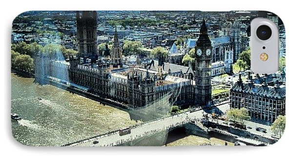 Thames River, View From London Eye | IPhone Case by Abdelrahman Alawwad