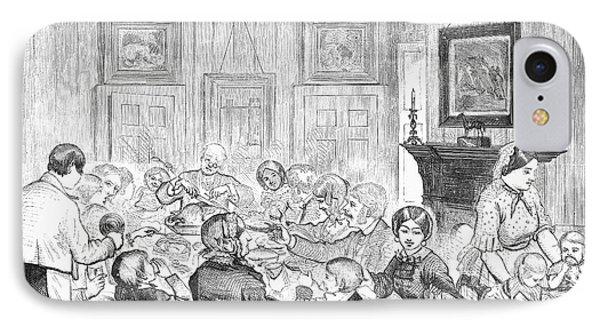 Thanskgiving Dinner, 1857 Phone Case by Granger