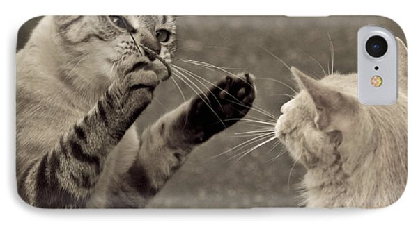 That Mouse Was This Big Phone Case by Kim Henderson