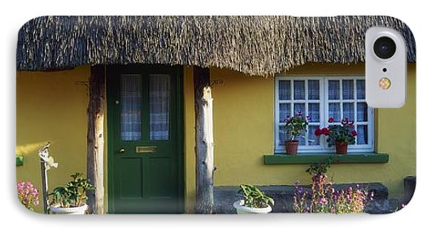Thatched Cottage, Adare, Co Limerick Phone Case by The Irish Image Collection
