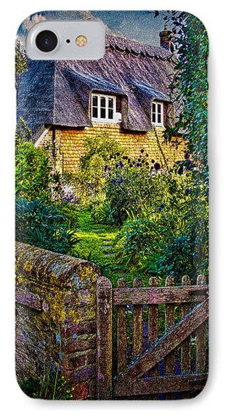 Thatched Roof Country Home Phone Case by Chris Lord