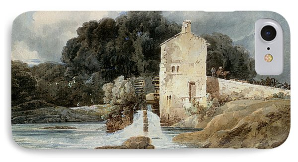 The Abbey Mill - Knaresborough IPhone Case by Thomas Girtin