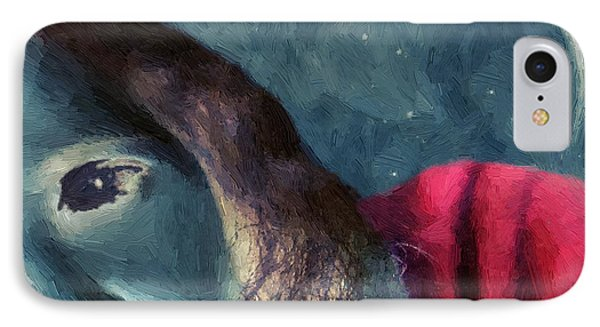 The Agony Of Saint Catherine Phone Case by RC deWinter