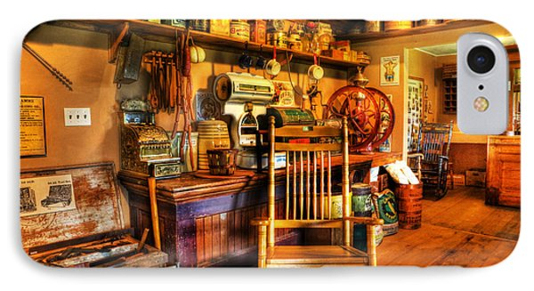 The American General Store -  - Vintage - Nostalgia IPhone Case by Lee Dos Santos