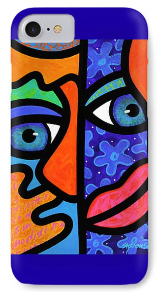 The Answer Is Three IPhone Case by Steven Scott