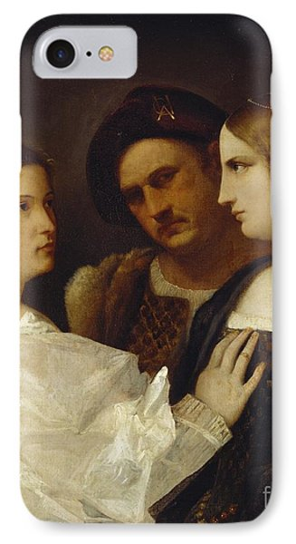 The Appeal  IPhone Case by Tiziano Vecellio Titian