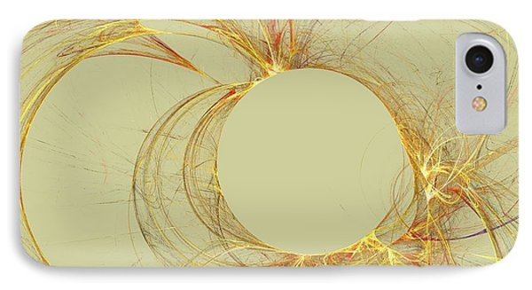IPhone Case featuring the digital art The Arcs by Kim Sy Ok