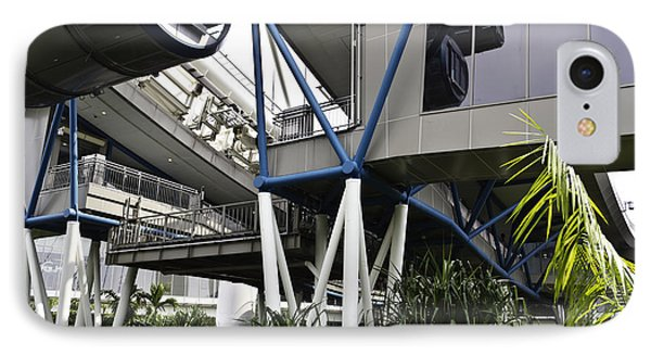 The Area Below The Capsules Of The Singapore Flyer Phone Case by Ashish Agarwal