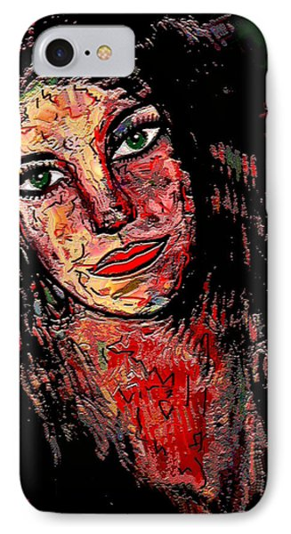 The Artist Phone Case by Natalie Holland