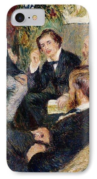 The Artist's Studio Rue Saint Georges Phone Case by Pierre Auguste Renoir
