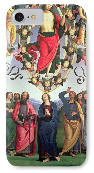 The Ascension Of Christ IPhone Case by Pietro Perugino