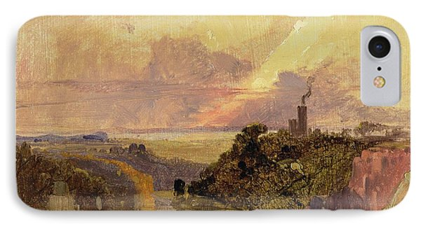 The Avon Gorge At Sunset  IPhone Case by Francis Danby
