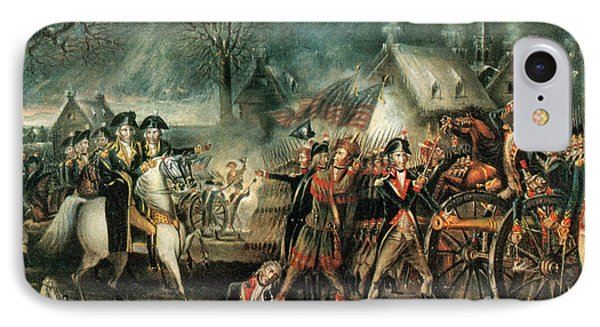 The Battle Of Trenton 1776 Phone Case by Photo Researchers