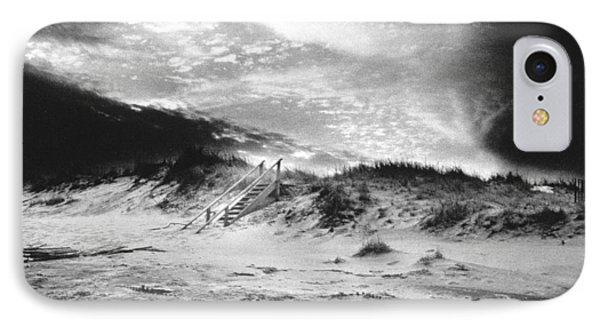 The Beach At Bridgehampton IPhone Case by Simon Marsden