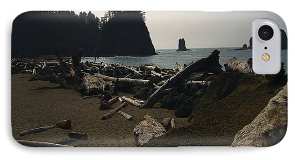 The Beach At Twilight Phone Case by Kym Backland