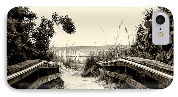 The Beach Path - Clearwater Beach Phone Case by Bill Cannon