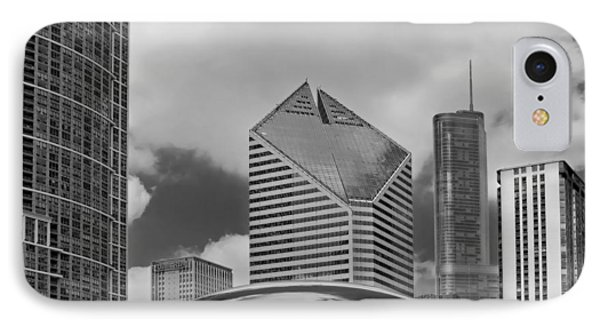 The Bean Chicago Illinois IPhone Case by Dave Mills