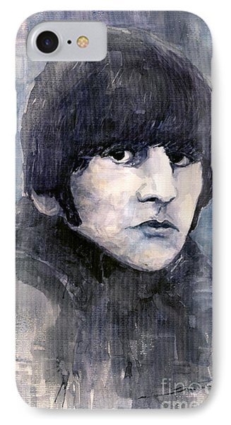 Musicians iPhone 7 Case - The Beatles Ringo Starr by Yuriy Shevchuk