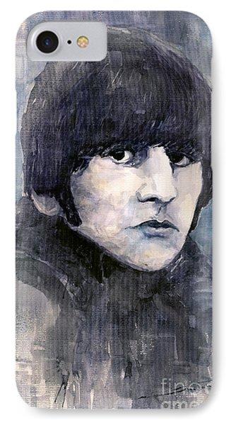 Musician iPhone 7 Case - The Beatles Ringo Starr by Yuriy Shevchuk
