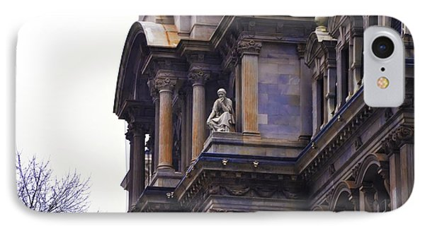 The Beauty Of Philadelphia City Hall Phone Case by Bill Cannon
