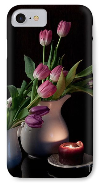 The Beauty Of Tulips IPhone Case by Sherry Hallemeier