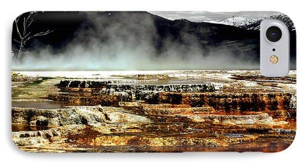 The Beauty Of Yellowstone Phone Case by Ellen Heaverlo