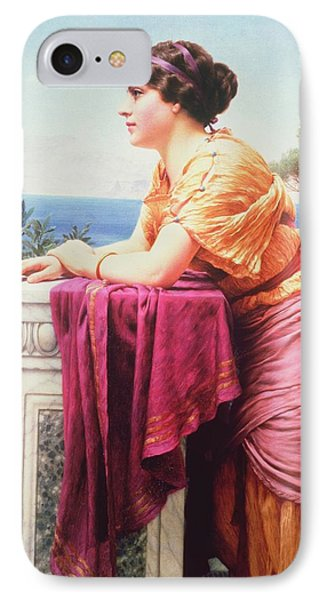 The Belvedere Phone Case by John William Godward