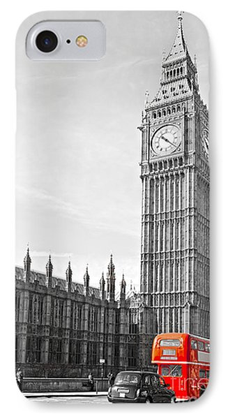 IPhone Case featuring the photograph The Big Ben - London by Luciano Mortula