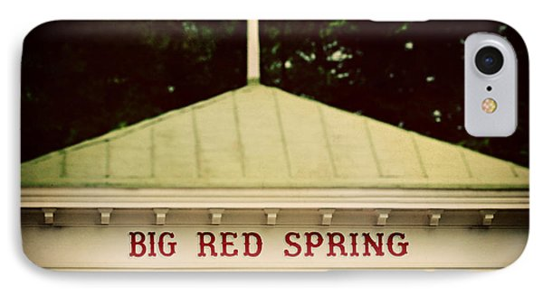 The Big Red Spring Phone Case by Lisa Russo