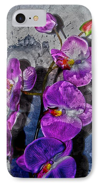 The Blue Orchid  Phone Case by Jerry Cordeiro