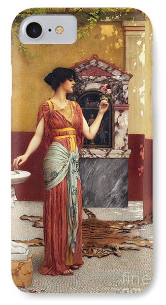 The Bouquet IPhone Case by John William Godward