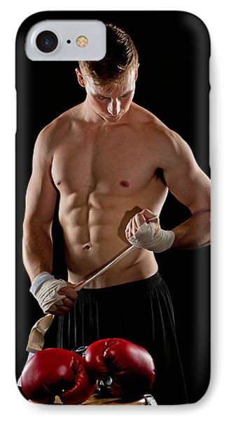 The Boxer IPhone Case by Jim Boardman