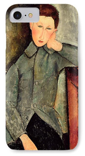 The Boy Phone Case by Amedeo Modigliani