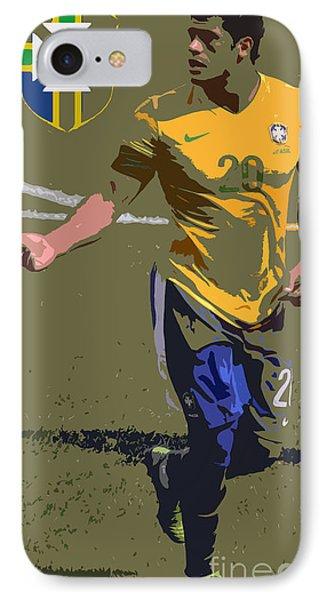 The Brazilian Hulk Iv IPhone Case by Lee Dos Santos